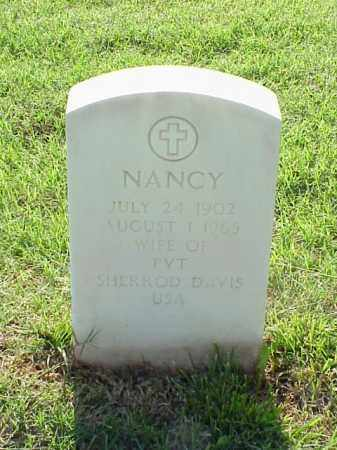 DAVIS, NANCY - Pulaski County, Arkansas | NANCY DAVIS - Arkansas Gravestone Photos