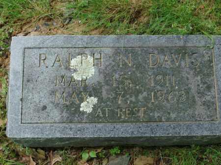 DAVIS, RALPH N - Pulaski County, Arkansas | RALPH N DAVIS - Arkansas Gravestone Photos