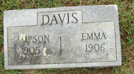 DAVIS, SAMPSON - Pulaski County, Arkansas | SAMPSON DAVIS - Arkansas Gravestone Photos
