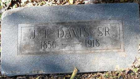 DAVIS, SR, J F - Pulaski County, Arkansas | J F DAVIS, SR - Arkansas Gravestone Photos