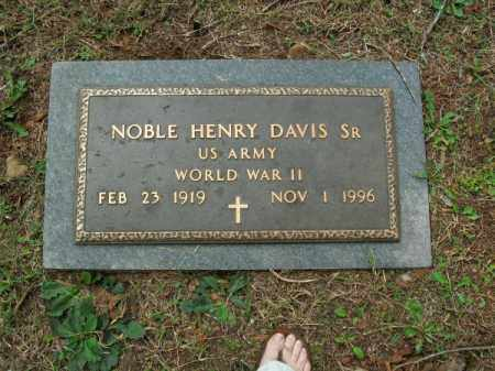 DAVIS, SR (VETERAN WWII), NOBLE HENRY - Pulaski County, Arkansas | NOBLE HENRY DAVIS, SR (VETERAN WWII) - Arkansas Gravestone Photos