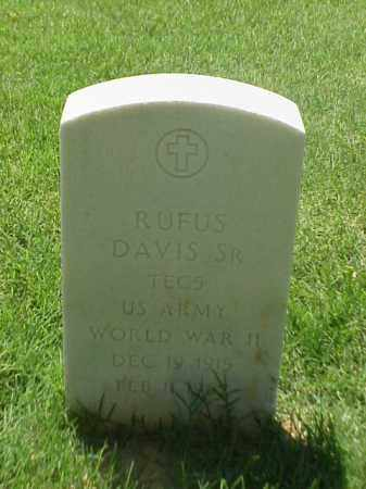 DAVIS, SR (VETERAN WWII), RUFUS - Pulaski County, Arkansas | RUFUS DAVIS, SR (VETERAN WWII) - Arkansas Gravestone Photos