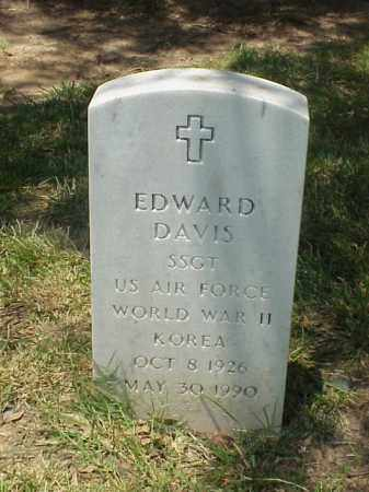 DAVIS (VETERAN 2 WARS), EDWARD - Pulaski County, Arkansas | EDWARD DAVIS (VETERAN 2 WARS) - Arkansas Gravestone Photos