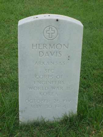 DAVIS (VETERAN 2 WARS), HERMON - Pulaski County, Arkansas | HERMON DAVIS (VETERAN 2 WARS) - Arkansas Gravestone Photos