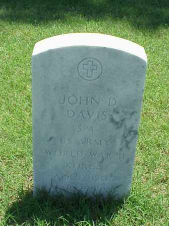 DAVIS (VETERAN 2 WARS), JOHN D - Pulaski County, Arkansas | JOHN D DAVIS (VETERAN 2 WARS) - Arkansas Gravestone Photos