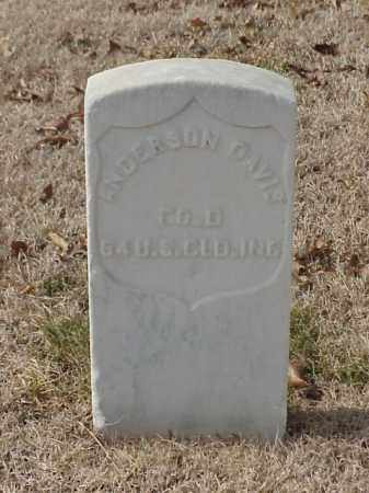 DAVIS (VETERAN UNION), ANDERSON - Pulaski County, Arkansas | ANDERSON DAVIS (VETERAN UNION) - Arkansas Gravestone Photos