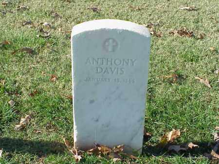 DAVIS (VETERAN UNION), ANTHONY - Pulaski County, Arkansas | ANTHONY DAVIS (VETERAN UNION) - Arkansas Gravestone Photos