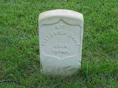 DAVIS (VETERAN UNION), FREDERICK - Pulaski County, Arkansas | FREDERICK DAVIS (VETERAN UNION) - Arkansas Gravestone Photos