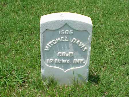 DAVIS (VETERAN UNION), MITCHEL - Pulaski County, Arkansas | MITCHEL DAVIS (VETERAN UNION) - Arkansas Gravestone Photos