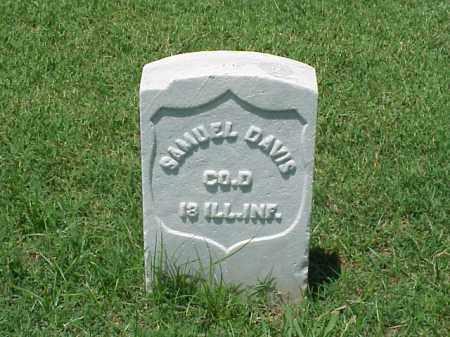 DAVIS (VETERAN UNION), SAMUEL - Pulaski County, Arkansas | SAMUEL DAVIS (VETERAN UNION) - Arkansas Gravestone Photos
