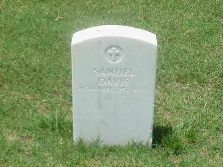 DAVIS (VETERAN UNION), SAMUEL - Pulaski County, Arkansas | SAMUEL DAVIS (VETERAN UNION) - Arkansas Gravestone Photos