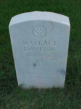 DAVIS, JR (VETERAN), WALLACE - Pulaski County, Arkansas | WALLACE DAVIS, JR (VETERAN) - Arkansas Gravestone Photos