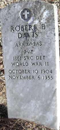 DAVIS (VETERAN WWII), ROBERT B - Pulaski County, Arkansas | ROBERT B DAVIS (VETERAN WWII) - Arkansas Gravestone Photos