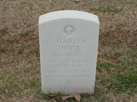 DAVIS (VETERAN WWI), CHARLEY - Pulaski County, Arkansas | CHARLEY DAVIS (VETERAN WWI) - Arkansas Gravestone Photos