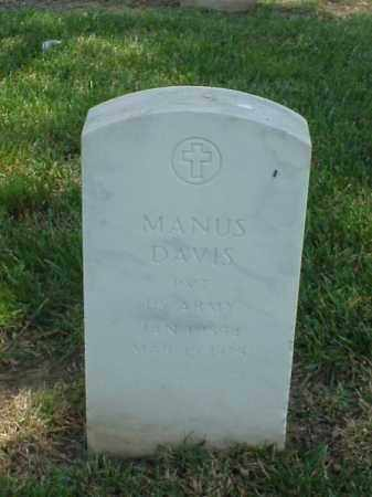 DAVIS (VETERAN WWI), MANUS - Pulaski County, Arkansas | MANUS DAVIS (VETERAN WWI) - Arkansas Gravestone Photos