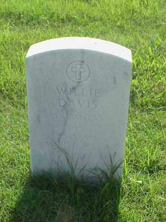 DAVIS (VETERAN WWI), WILLIE - Pulaski County, Arkansas | WILLIE DAVIS (VETERAN WWI) - Arkansas Gravestone Photos