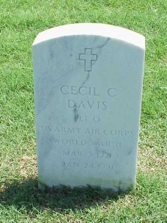 DAVIS (VETERAN WWII), CECIL C - Pulaski County, Arkansas | CECIL C DAVIS (VETERAN WWII) - Arkansas Gravestone Photos