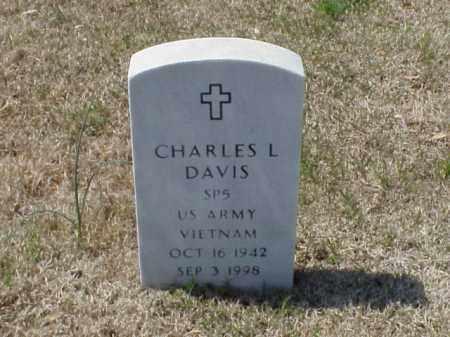 DAVIS (VETERAN WWII), CHARLES L - Pulaski County, Arkansas | CHARLES L DAVIS (VETERAN WWII) - Arkansas Gravestone Photos