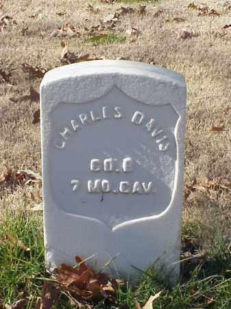 DAVIS (VETERAN UNION), CHARLES - Pulaski County, Arkansas | CHARLES DAVIS (VETERAN UNION) - Arkansas Gravestone Photos