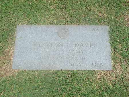 DAVIS (VETERAN WWII), HERMAN C - Pulaski County, Arkansas | HERMAN C DAVIS (VETERAN WWII) - Arkansas Gravestone Photos