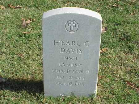 DAVIS (VETERAN WWII), H'EARL C - Pulaski County, Arkansas | H'EARL C DAVIS (VETERAN WWII) - Arkansas Gravestone Photos