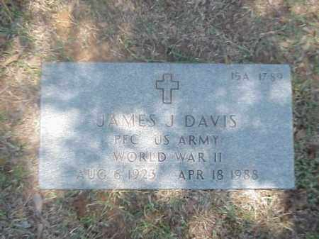 DAVIS (VETERAN WWII), JAMES J - Pulaski County, Arkansas | JAMES J DAVIS (VETERAN WWII) - Arkansas Gravestone Photos