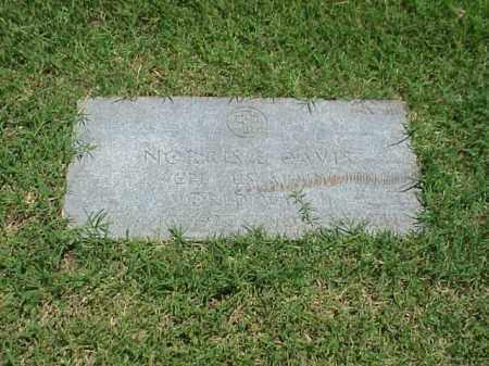 DAVIS (VETERAN WWII), NORRIS E - Pulaski County, Arkansas | NORRIS E DAVIS (VETERAN WWII) - Arkansas Gravestone Photos