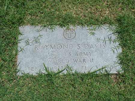 DAVIS (VETERAN WWII), RAYMOND S - Pulaski County, Arkansas | RAYMOND S DAVIS (VETERAN WWII) - Arkansas Gravestone Photos