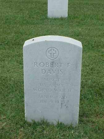 DAVIS (VETERAN WWII), ROBERT F - Pulaski County, Arkansas | ROBERT F DAVIS (VETERAN WWII) - Arkansas Gravestone Photos