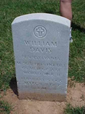 DAVIS (VETERAN WWII), WILLIAM - Pulaski County, Arkansas | WILLIAM DAVIS (VETERAN WWII) - Arkansas Gravestone Photos
