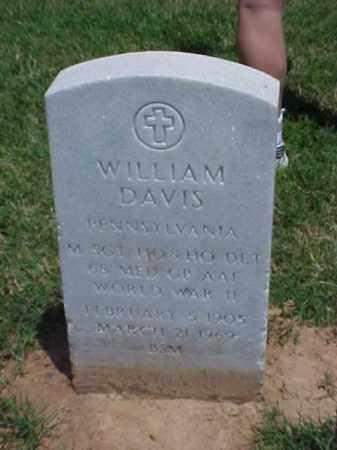 DAVIS (VETERAN WWII), WILLIAM - Pulaski County, Arkansas | WILLIAM DAVIS (VETERAN WWII) - Arkansas Gravestone Photos