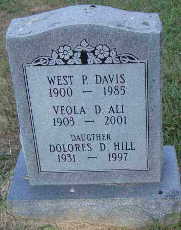 ALI, VEOLA - Pulaski County, Arkansas | VEOLA ALI - Arkansas Gravestone Photos