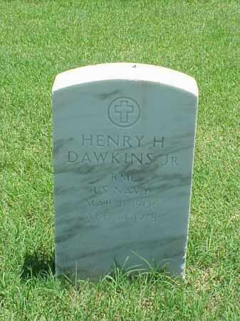 DAWKINS, JR (VETERAN), HENRY H - Pulaski County, Arkansas | HENRY H DAWKINS, JR (VETERAN) - Arkansas Gravestone Photos