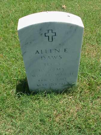 DAWS (VETERAN WWII), ALLEN E - Pulaski County, Arkansas | ALLEN E DAWS (VETERAN WWII) - Arkansas Gravestone Photos