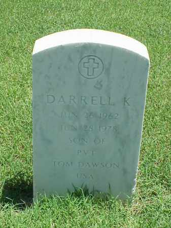 DAWSON, DARRELL K - Pulaski County, Arkansas | DARRELL K DAWSON - Arkansas Gravestone Photos