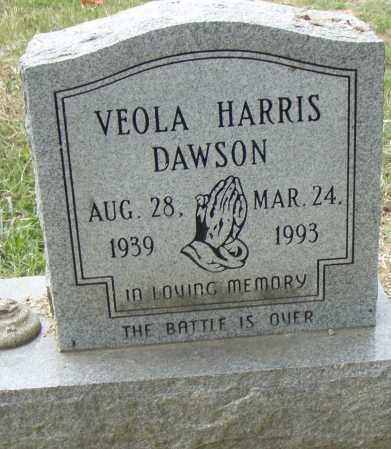 HARRIS DAWSON, VEOLA - Pulaski County, Arkansas | VEOLA HARRIS DAWSON - Arkansas Gravestone Photos