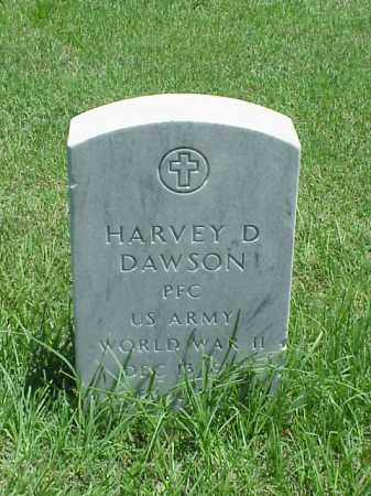 DAWSON (VETERAN WWII), HARVEY D - Pulaski County, Arkansas | HARVEY D DAWSON (VETERAN WWII) - Arkansas Gravestone Photos