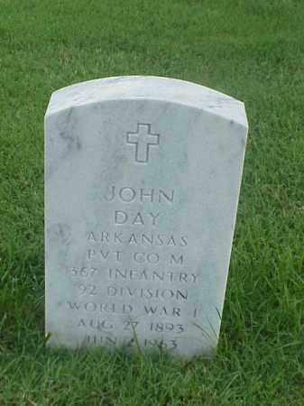 DAY (VETERAN WWI), JOHN - Pulaski County, Arkansas | JOHN DAY (VETERAN WWI) - Arkansas Gravestone Photos