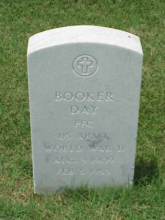 DAY (VETERAN WWII), BOOKER - Pulaski County, Arkansas | BOOKER DAY (VETERAN WWII) - Arkansas Gravestone Photos