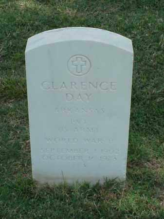 DAY (VETERAN WWII), CLARENCE - Pulaski County, Arkansas | CLARENCE DAY (VETERAN WWII) - Arkansas Gravestone Photos