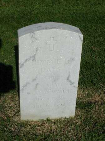 DAYS (VETERAN WWII), JIMMIE L - Pulaski County, Arkansas | JIMMIE L DAYS (VETERAN WWII) - Arkansas Gravestone Photos