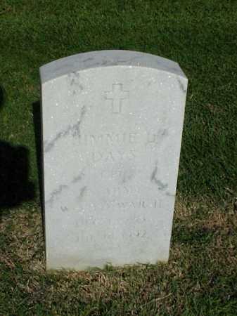 DAYS (VETERAN WWII), JIMMIE L - Pulaski County, Arkansas | JIMMIE L DAYS (VETERAN WWII) - Arkansas Gravestone Photos