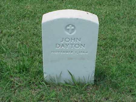 DAYTON, JOHN - Pulaski County, Arkansas | JOHN DAYTON - Arkansas Gravestone Photos