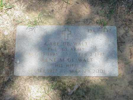 DE WALT, IRENE M - Pulaski County, Arkansas | IRENE M DE WALT - Arkansas Gravestone Photos