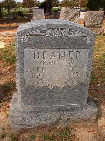 DEAMER, BESSIE ERION - Pulaski County, Arkansas | BESSIE ERION DEAMER - Arkansas Gravestone Photos
