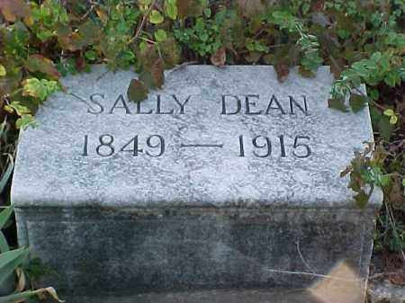 DEAN, SALLY - Pulaski County, Arkansas | SALLY DEAN - Arkansas Gravestone Photos