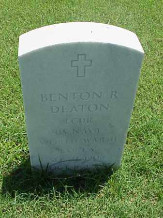 DEATON (VETERAN 2 WARS), BENTON R - Pulaski County, Arkansas | BENTON R DEATON (VETERAN 2 WARS) - Arkansas Gravestone Photos