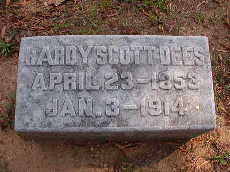 DEES, HARDY SCOTT - Pulaski County, Arkansas | HARDY SCOTT DEES - Arkansas Gravestone Photos