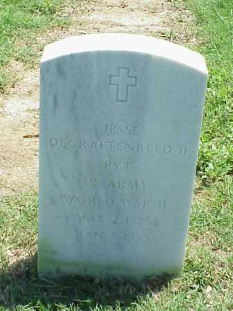 DEGRAFTENREED, II (VETERAN WWI, JESSE - Pulaski County, Arkansas | JESSE DEGRAFTENREED, II (VETERAN WWI - Arkansas Gravestone Photos
