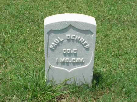 DEHNER (VETERAN UNION), PAUL - Pulaski County, Arkansas | PAUL DEHNER (VETERAN UNION) - Arkansas Gravestone Photos